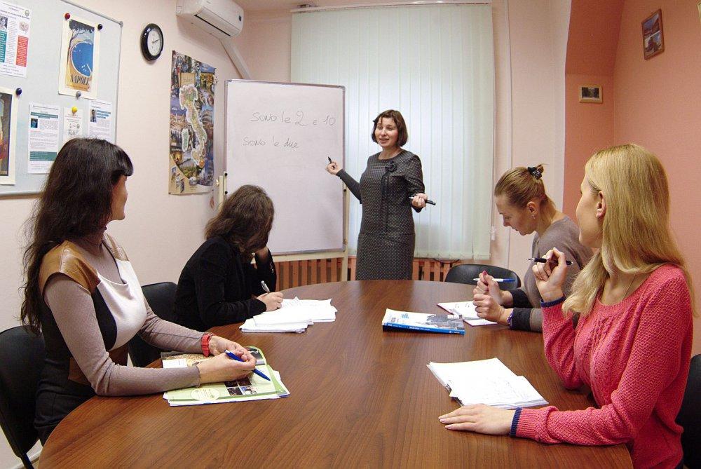 Занятия в группах